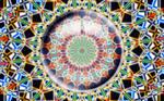 Lens on kaleidoscope