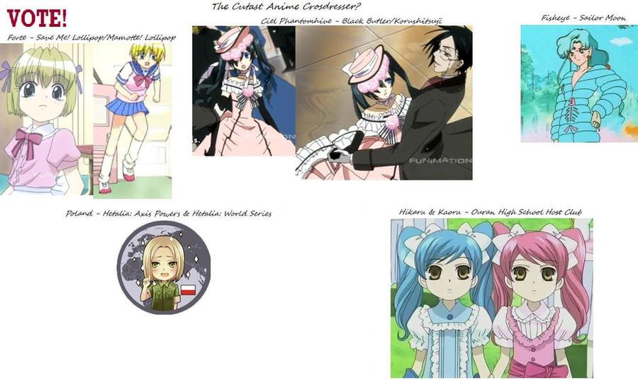 The Cutest Anime Crossdresser by rocketcandy393