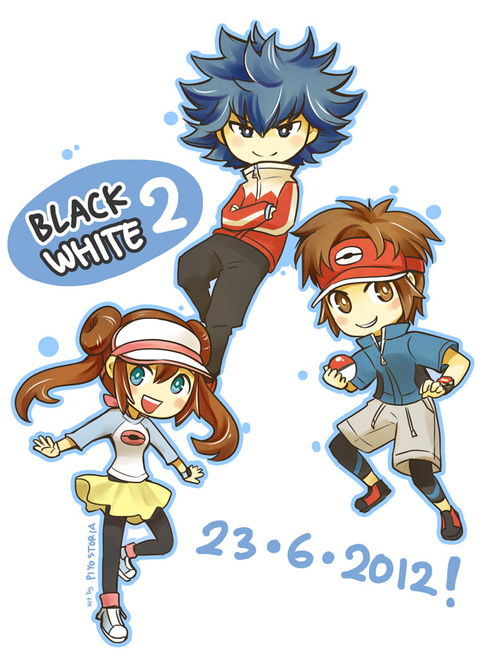 Pokemon Black2/White2 new characters! by piyostoria on ...