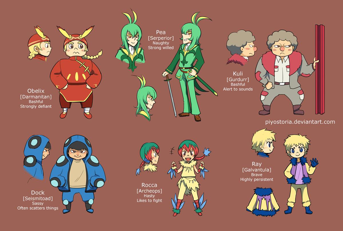 Pokemon People Characters Names | www.pixshark.com ...
