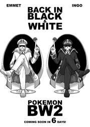 Pokemon BW2 Countdown BACK IN BLACK AND WHITE by piyostoria