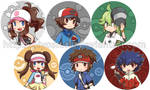Pokemon Gen V Trainers buttons