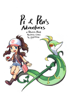 Nuzlocke - Pi and Pea's Adventures cover 2016 by piyostoria