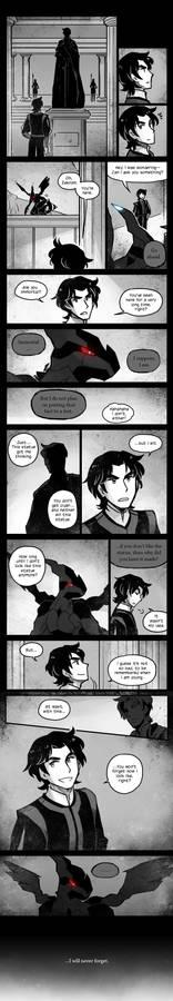 Comic: Zekrom + King of Ideals, Reminiscence