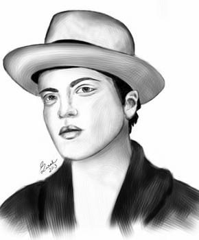 Bruno Mars - Digital Painting