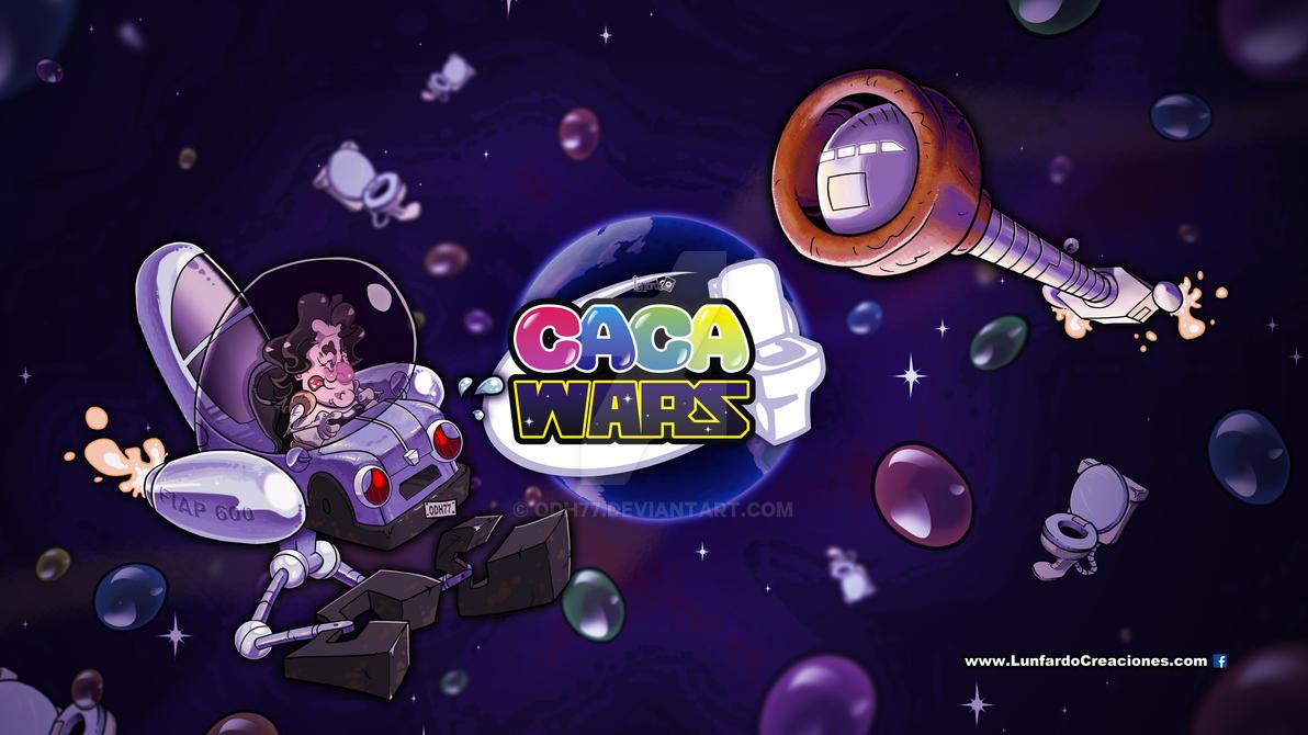 Caca Wars Ilustracion by ODH77