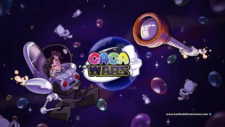 Caca Wars Ilustracion