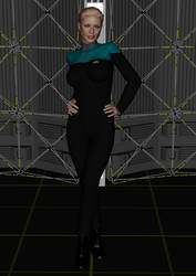 Seven Of Nine From Relativity by SciFiZone