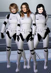 Female Stormtrooper Squad by SciFiZone