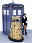 Clara And A Dalek. by SciFiZone