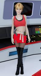 Mirror Universe Janice Rand by SciFiZone