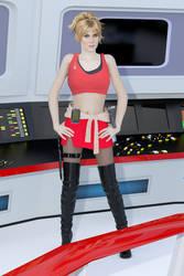 Mirror Universe Janice Rand 2 by SciFiZone