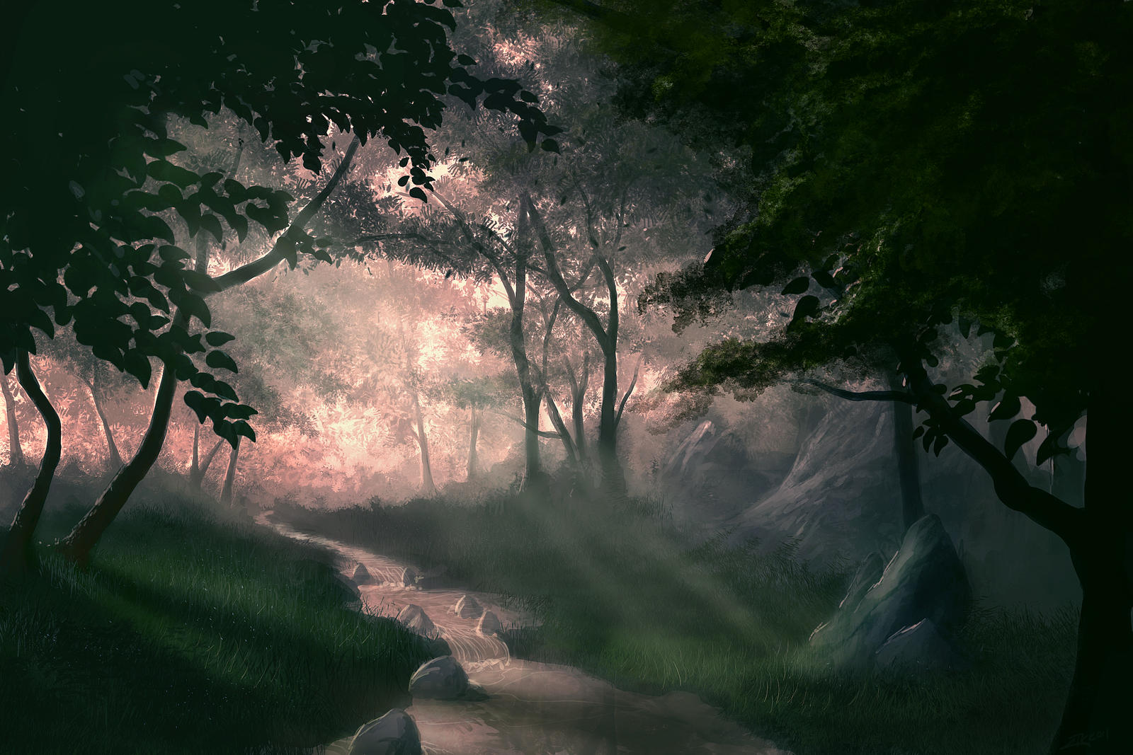 Mystic Forest 2 by Antichristofer