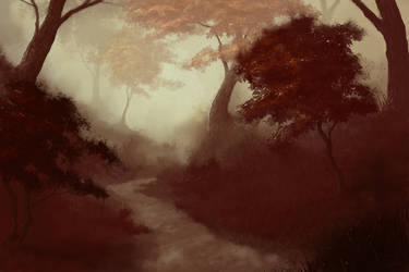 Mystic Forest 3 by Antichristofer