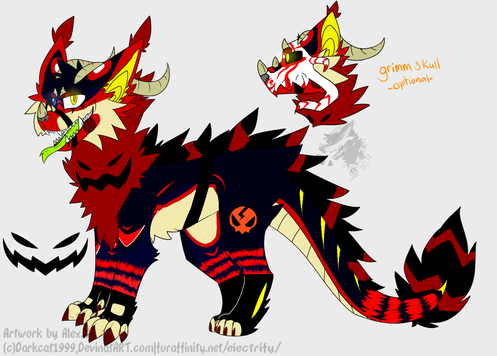 Blitz Halloween design by darkcat1999
