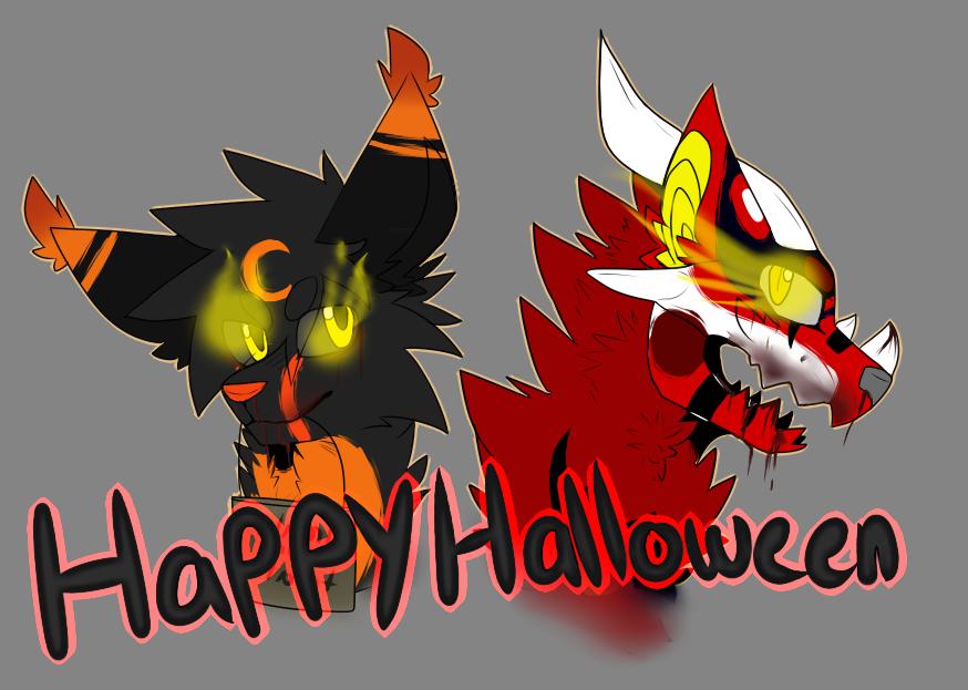 Happy Halloween 2014 by darkcat1999