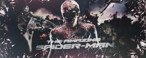 The Amazing Spider-Man GFX Sign by griffinvoorheesofc