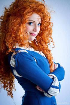 Merida Cosplay Disney - Fiore di Luna