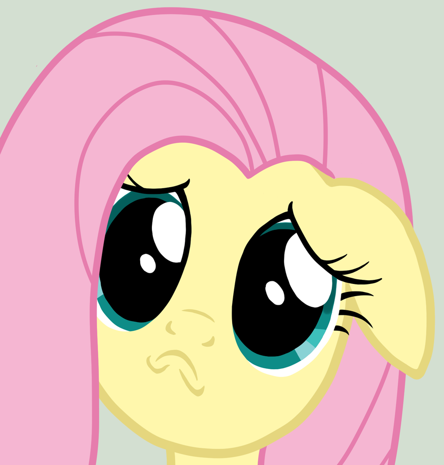 sad_faced_fluttershy_by_dark_machbot-d59