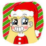 Star Butterfly takes a picture of Christmas