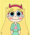 Star Butterfly is a cute smiley