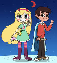 Star and Marco ready to come this Season 3 by Deaf-Machbot