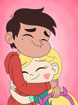 Marco and Star come back to happy hug again!