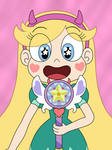 Star Butterfly has made a new wand herself