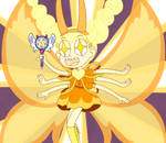 Star Butterfly turns into a golden mewberty