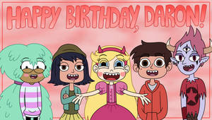 Star and Marco's friends in Daron Nefcy's Birthday by Deaf-Machbot