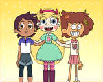 Star Butterfly meets Luz and Anne Boonchuy