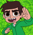 Marco Diaz the Lucky Safety Kid! by Deaf-Machbot