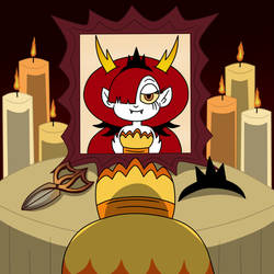 The Tribute of Hekapoo by Deaf-Machbot