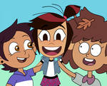 Molly McGee is Disney newcomer with Luz and Anne