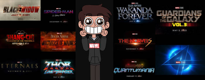 Marco is excited about new Marvel films make more!