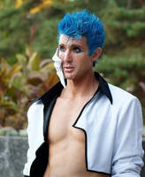 Grimmjow Cosplay 2010 by KingGrimm6