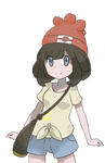 Pokemon Sun and Moon Trainer Art by Chocomiru02