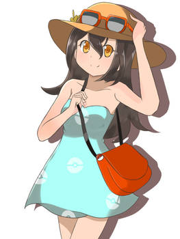 Pokemon Sun and Moon - Female Sightseer