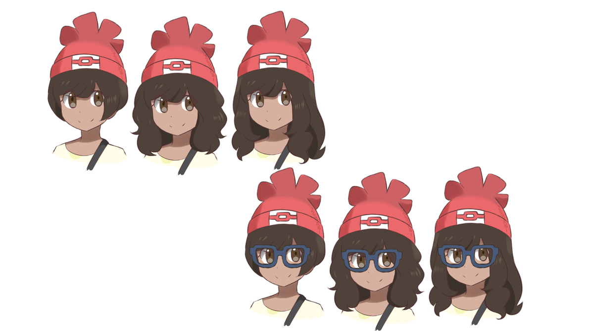 how to change hair in pokemon sun and moon