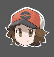 Pokemon - Hilbert Icon by chocomiru02