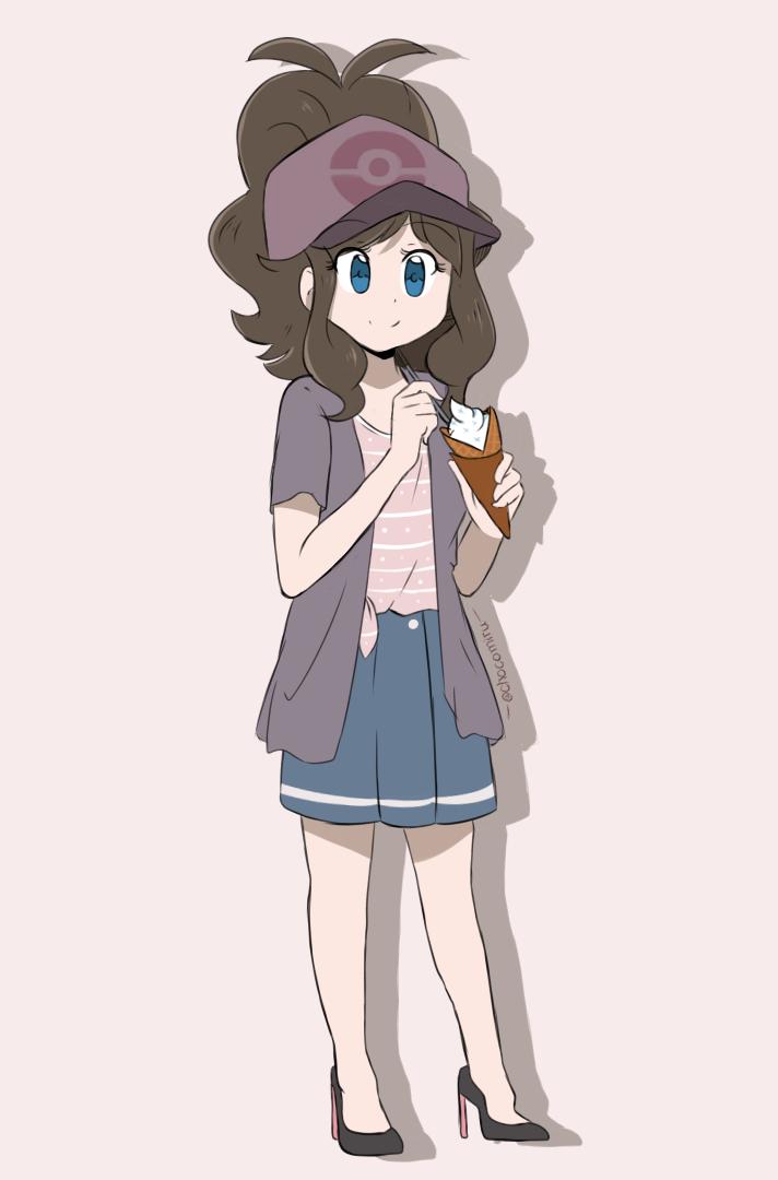 Pokemon BW - Hilda Modern Outfit by chocomiru02