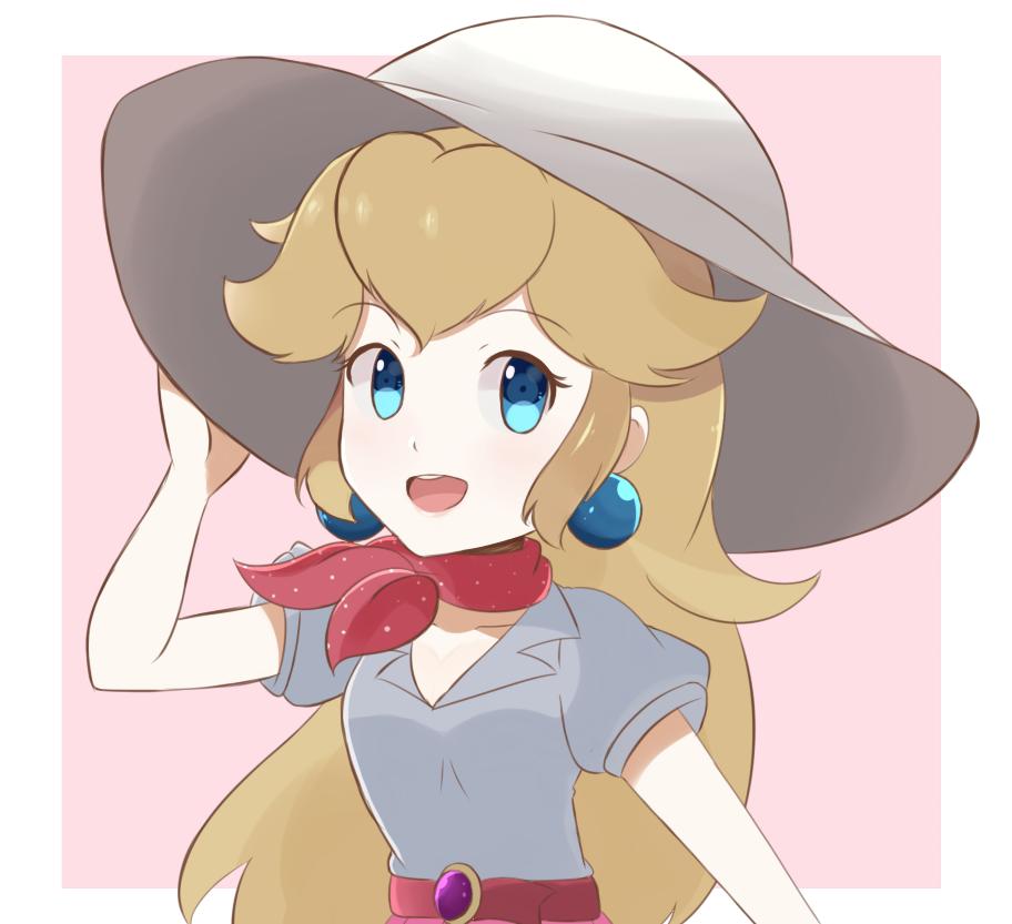 Super Mario Odyssey Summer Peach By Chocomiru02 On Deviantart