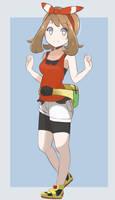Pokemon ORAS - May (2018 Full Art)