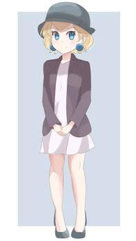 Princess Peach - Short Hair (Full Body)