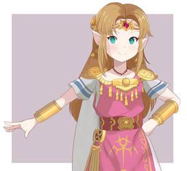 Super Smash Bros Ultimate - Princess Zelda by chocomiru02