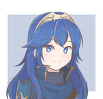 Fire Emblem - Lucina Headshot (Colored Sketch)