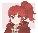 Fire Emblem - Anna Portrait (Colored Sketch)