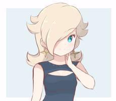 Princess Rosalina - Dress (Preview Sketch) by chocomiru02