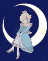 Princess Rosalina - Moon Princess by chocomiru02