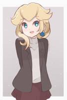 Princess Peach - Winter Casual Outfit by chocomiru02